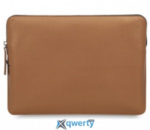 Knomo Geometric Embossed Laptop Sleeve Bronze for MacBook Pro 13 with/without Touch Bar (KN-14-207-BRO)