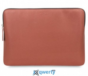 Knomo Geometric Embossed Laptop Sleeve Copper for MacBook Pro 13 with/without Touch Bar (KN-14-207-COP)