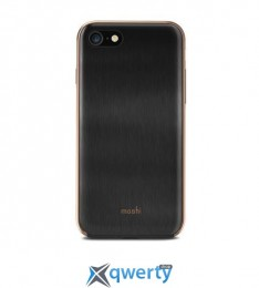 Moshi iGlaze Ultra Slim Snap On Case Armour Black for iPhone 8/7 (99MO088203)