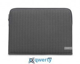 Moshi Pluma Designer Laptop Sleeve Herringbone Gray 13 for MacBook Pro 13 with/without Touch Bar (99MO104052)