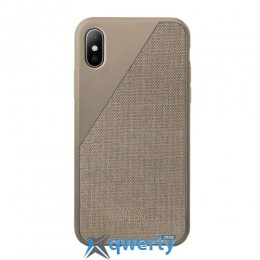 Native Union Clic Canvas Taupe for iPhone X (CCAV-TAU-CV-NP17)