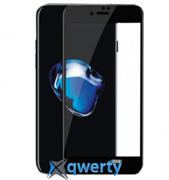XO FD1 3D Curved Surface Full Screen Tempered Glass 0,26 mm Black for iPhone 8/7