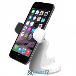 iOttie Easy View 2 Universal Car Mount Holder White for iPhone/Smartphone (HLCRIO115WH)