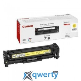 Canon 718 LBP-7200/ MF-8330/ 8350 yellow (2659B002/2659B014)