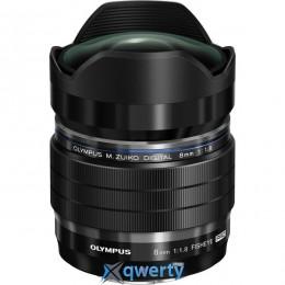 OLYMPUS ED 8mm 1:1.8 Fisheye PRO Black (V312030BW000)