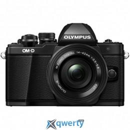 OLYMPUS E-M10 mark II Pancake Zoom 14-42 Kit black/black (V207052BE000)