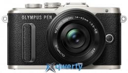 OLYMPUS E-PL8 14-42 mm Pancake Zoom Kit black/black (V205082BE000)