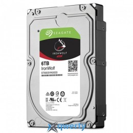 Seagate IronWolf HDD 6TB 7200rpm 256MB (ST6000VN0033) 3.5 SATAIII