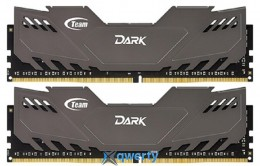 TEAM T-Force Dark Grey DDR4-3000 16GB (2x8) PC4-24000 (TDGED416G3000HC16ADC01)