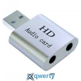 Dynamode USB C-Media 108 7.1 (USB-SOUND7-ALU silver)