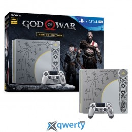 Sony PlayStation 4 Pro 1TB Limited Edition God of War (без игры)