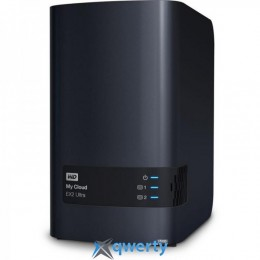 HDD 3.5 USB/LAN 6.0TB WD My Cloud EX2 Ultra NAS Black (WDBVBZ0060JCH-EESN)
