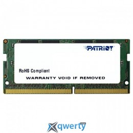Patriot SODIMM DDR4-2400 4GB PC4-19200 Signature Line (PSD44G240082S)