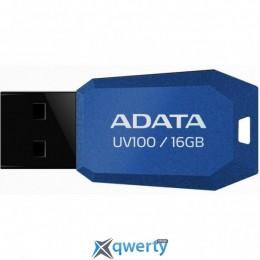 ADATA 16Gb UV100 Blue USB 2.0 (AUV100-16G-RBL)