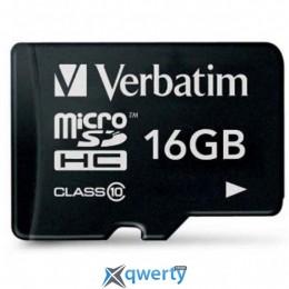 Verbatim 16GB microSDHC class 10 (44010)