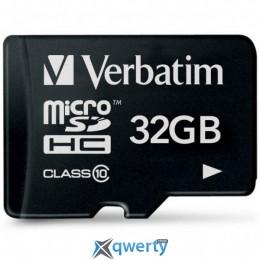 Verbatim 32GB microSDHC class 10 (44013)