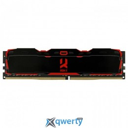 GOODRAM DDR4 2800MHz 4GB PC-22400 IRDM X Black (IR-X2800D464L16S/4G)