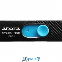 ADATA 16GB UV320 Black/Blue USB 3.1 (AUV320-16G-RBKBL)