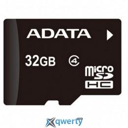 ADATA 32GB microSDHC Class 4 (AUSDH32GCL4-R)
