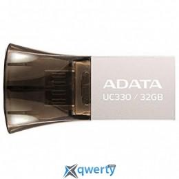 ADATA 32GB UC330 Black USB 2.0 OTG (AUC330-32G-RBK)