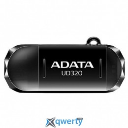 ADATA 64GB UD320 Black USB 2.0 OTG (AUD320-64G-RBK)