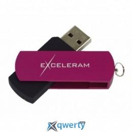eXceleram 16GB P2 Series Purple/Black USB 2.0 (EXP2U2PUB16)