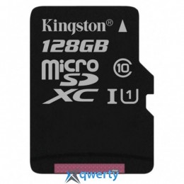 Kingston 128GB microSD class 10 UHS-I Canvas Select (SDCS/128GBSP)
