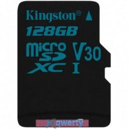 Kingston 128GB microSD class 10 UHS-I U3 Canvas Go (SDCG2/128GBSP)