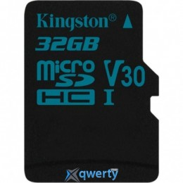 Kingston 32GB microSDHC class 10 UHS-I U3 Canvas Go (SDCG2/32GBSP)