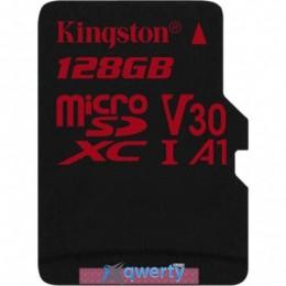 Kingston 128GB microSDXC class 10 UHS-I U3 (SDCR/128GBSP)
