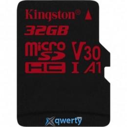 Kingston 32GB microSDHC class 10 UHS-I U3 (SDCR/32GBSP)