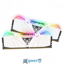 Patriot Viper RGB White DDR4 300016GB (2x8) PC-24000 (PVR416G300C5KW)