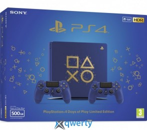 Sony PlayStation 4 Slim 500 Gb Days of Play Special Edition