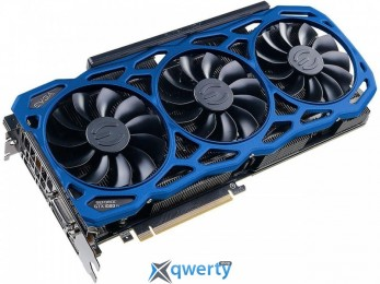 EVGA GeForce GTX 1080 Ti 11GB GDDR5X (352bit) (1569/11016) (DVI, HDMI, DisplayPort) FTW3 Elite Gaming Blue (11G-P4-6796-K3)