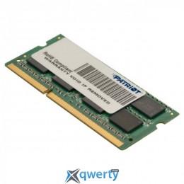 Patriot SODIMM DDR3-1333 2GB PC-10660 (PSD32G13332S)
