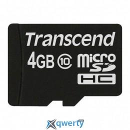 Transcend 4GB microSDHC class 10 (TS4GUSDC10)