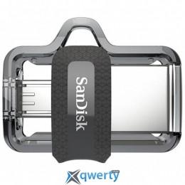 SANDISK 16GB Ultra Dual Black USB 3.0 OTG (SDDD3-016G-G46)