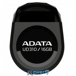 ADATA 16GB DashDrive Durable UD310 Black USB 2.0 (AUD310-16G-RBK)