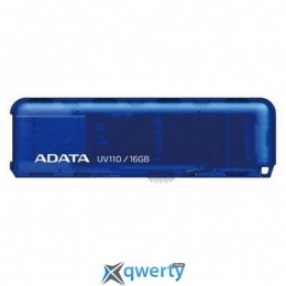 ADATA 16GB UV110 Blue USB 2.0 (AUV110-16G-RBL)