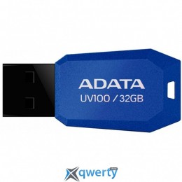 ADATA 32GB DashDrive UV100 Blue USB 2.0 (AUV100-32G-RBL)