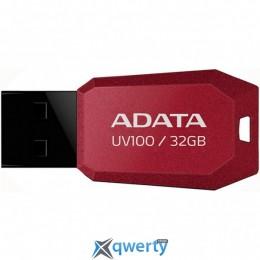 ADATA 32GB DashDrive UV100 Red USB 2.0 (AUV100-32G-RRD)