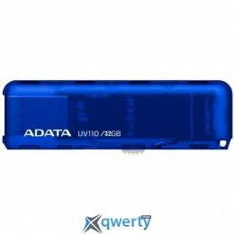 ADATA 32GB UV110 Blue USB 2.0 (AUV110-32G-RBL)