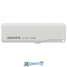 ADATA 32GB UV110 White USB 2.0 (AUV110-32G-RWH)