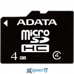 ADATA 4GB microSD class 4 (AUSDH4GCL4-R)