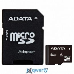 ADATA 4GB microSD class 4 (AUSDH4GCL4-RA1)