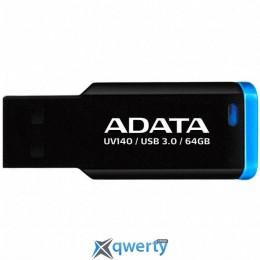 ADATA 64GB UV140 Black-Blue USB 3.0 (AUV140-64G-RBE)