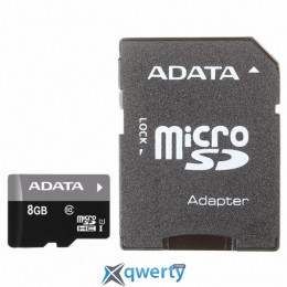 ADATA 8GB microSD class 10 (AUSDH8GUICL10-RA1)
