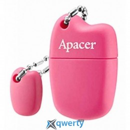 Apacer 16GB AH118 Pink USB 2.0 (AP16GAH118P-1)