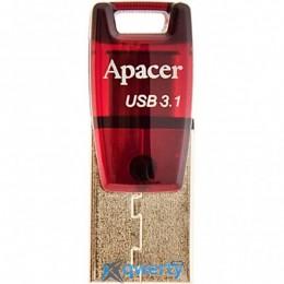Apacer 32GB AH180 Red Type-C Dual USB 3.1 (AP32GAH180R-1)