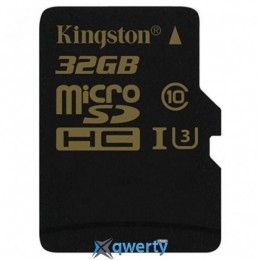Kingston 32GB microSDHC class 10 UHS-I U3 (SDCG/32GBSP)